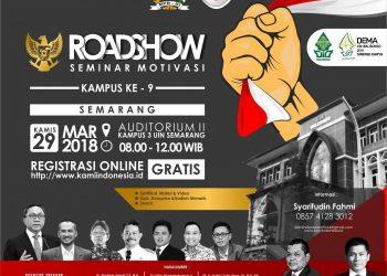 pamflet Roadshow Kami Indonesia - Fasilitas