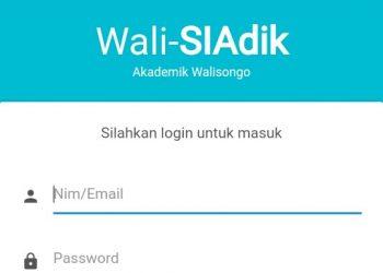 Tampilan login di aplikasi SIAP-KAWAL
