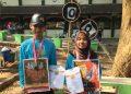 Pemenang lomba poster Orsenik 2018 di taman Revolusi Kampu II UIN Walisongo (23/9/2018) (Dokumen Pribadi)