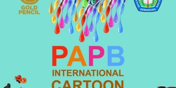 Pamflet kegiatan PAPB International Cartoon Festival 2019
