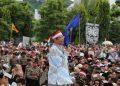Mahfud MD saat memberikan orasi kebangsaan di Lapangan Simpang Lima (sumber foto: www.jatengprov.go.id)