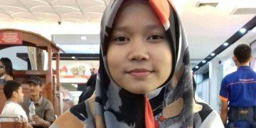 Siti Zumronah peraih IPK tertinggi Fakultas Sains dan Teknologi. (Dokumen istimewa)