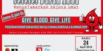 (Pamflet kegiatan donor darah)