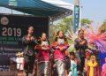 Salah satu penampilan Organisasi Daerah (Orda) di Parade Budaya, Pengenalan Budaya Akademik dan Kemahasiswaan (PBAK) 2019 (Amanat/ Hasib)