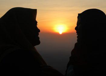 Suasana sunrise di Mawar Camp Ungaran (Dokumen Istimewa).