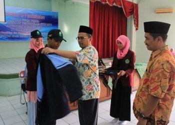 Pelepasan peserta KKN MIT angkatan ke-6 oleh WR II Imam Taufiq (Dok. Istimewa)