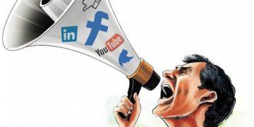 Ilustrasi menghujat di sosial media (Dokumen Internet).