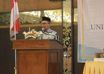 Imam Taufiq dalam Raker UIN Walisongo di Hotel Laras Asri Salatiga. (Dok. Istimewa)