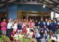 Tim Kuliah Kerja Nyata (KKN) Mandiri Inisiatif Terprogram (MIT) ke 9 UIN Walisongo Posko 11 bersama Ibu Pemberdayaan Kesejahteraan Keluarga (PKK) Karangbendo, Kelurahan Karangrejo, Kecamatan Gajahmungkur, Semarang, mengadakan pelatihan pembuatan sabun cuci piring, Minggu (2/2/2020) .