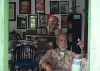 Soesilo Toer saat ditemui Kompas.com di rumahnya di Jalan Sumbawa Nomor 40, Kelurahan Jetis, Kabupaten Blora, Jawa Tengah Artikel ini telah tayang di Kompas.com dengan