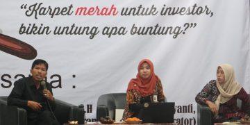 Talk Show Omnibus Law di Auditorium I Kampus 1 (12/03/2020) (Amanat/Fikri)