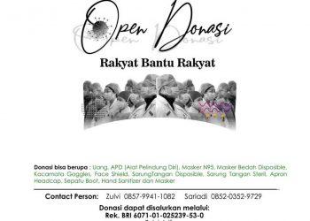 Pamflet Open Donasi.