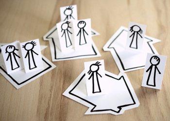 Ilustrasi social distancing (Dokumen pixabay).