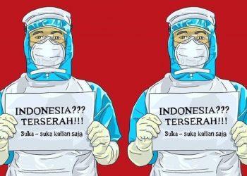 Ilustrasi Indonesia terserah (dokumen www.ngelmu.co).