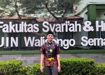 Muhammad Akbal Habib Wisudawan Terbaik UIN Walisongo (Dokumen Istimewa).