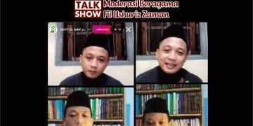 Tangkap layar talkshow moderasi beragama, Jumat(13/11/2020). (Dok. Istimewa)
