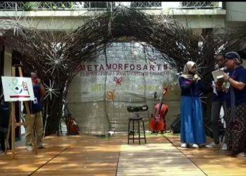 Pembukaan Pameran Seni dan Arsitektur Islam Prodi ISAI UIN Walisong. Kamis, (07/10/2021).